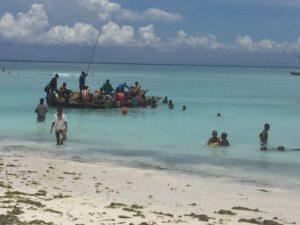 Nungwi Zanzibar Skønne Strande Lækkert Vand Og Dejligt Vejr Med